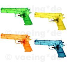 18x Wasserpistole Wasser-Pistole Spritzpistole Kanone Transparent Klassiker 20cm