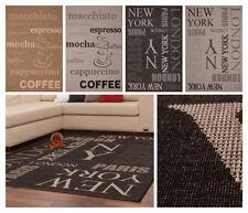 Alfombras de color principal negro para pasillos