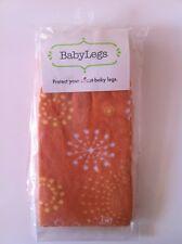 Authentic BabyLegs Baby Infant Leg Warmers One Size Orange Starburst Fall Winter