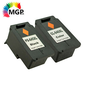 Compatible BK Color PG 645XL CL 646XL Ink Cartridge Cannon MG2965 MG2960 MG3060