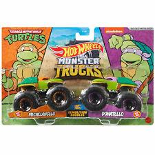Monster Trucks Demolition Doubles Hotwheels 4 VS Hot Wheels 1 2021
