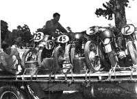 Velocette Norton motorcycle Bobby Brown Alan Burt 1953 photo photograph