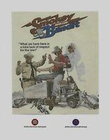 SMOKEY AND THE BANDIT stars, Burt Reynolds, Jackie Gleason worn material relics