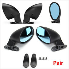 Pair of Universal Car Door Wing Side Mirror+ 2x Gaskets L+R For Safety Parking