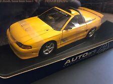 1998 SALEEN MUSTANG S351 COUPE 1/18 YELLOW VHTF AUTOart