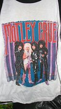MOTLEY CRUE 1986 Theatre of Pain vintage licensed concert baseball jersey MD