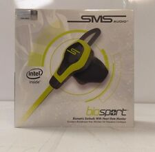 SMS Audio Bio Sport Biometric Earbuds With Heart Monitor