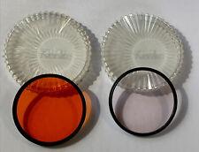 MINT kenko Lens Filter 72mm skylight 1B & SO 56.2 YA3 in Case from Japan #244