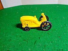"Vintage Wannatoy  Hard Plastic 3"" Farm Tractor"
