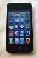 APPLE IPOD TOUCH 4th GEN GENERATION 8GB BLACK A1367 MP3 WiFi CAMERA EXCELLENT