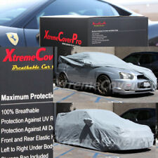 2015 SUBARU WRX STi w/ STi SPOILER Breathable Car Cover w/Mirror Pockets - Gray