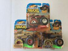 Hot Wheels Monster Trucks Lot Of 3 Nip