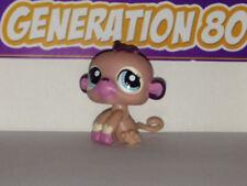 Littlest PetShop Singe Rose N°1925 Pet Shop Monkey