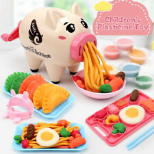 Kids Mold Pig Plasticine Toys Color Clay Tool Set Puzzle DIY Mud Pasta Machine