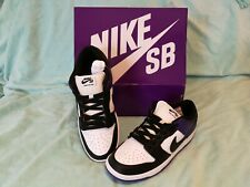 Nike SB Dunk Low Pro Court Purple Black Size US 10