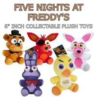 """Five Nights at Freddy's Funko 6"""" Inch Collectable Plushes"""