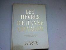 LES HEURES D'ETIENNE CHEVALIER CHEZ VERVE PAR JEAN FOUQUET  EX  233/900 1946*