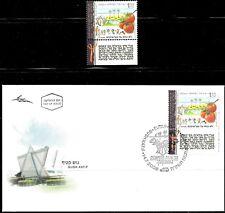 ISRAEL 2008 Stamp + FDC 'GUSH KATIF - 35 YEARS OF SETTLING'. MNH. (V.Nice).