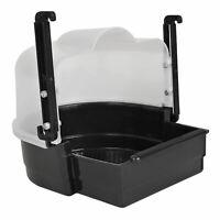 Trixie Black Bath House For Parakeets & Parrots 19x21x23cm Easy To Hang