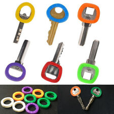 32pcs Identification Silicone Key Rings Key Caps / Covers Key Identifier New