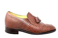 Made in England Lift Brown Tassel Dress Oxfords Shoes Mens 7D EUR / US 8D