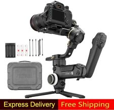 US Zhiyun Crane 3S 3 Axis Handheld Gimbal Stabilizer For DSLR+ SmartSling Handle