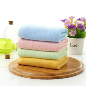 Soft Bamboo Wash Cloth (Set of 10) Pink - Made from 100% Bamboo Fibre