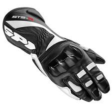 Spidi guanto In Pelle Sts-R glove colore nero-bianco