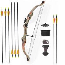 ASD Archery Childs / Kids Compound Bow & Arrow Set 20 lbs * W/ 8 Arrows * Camo *