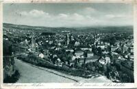 uralte AK, Esslingen am Neckar, Blick von der Neckarhalde