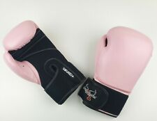 Century ILOVEKICKBOXING.COM Boxing & Kickboxing 12 oz PINK Sparring Gloves