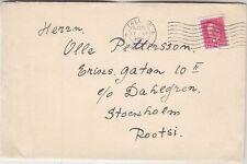 Estonia letter to Sweden, Postal censor 1939