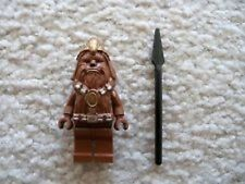 LEGO WOOKIE WARRIOR MINIFIG w/ Spear SW minifigure from set 7258 7260 sw132