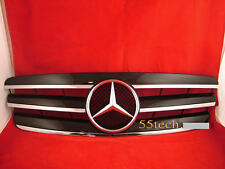 Mercedes  W203 Grill C230 C320 C240 Grille C32 BK 3 FIN New 2001~2007 Sedan C Cl