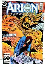 Arion Lord of Atlantis #34 Shadow Slayer 1985 Comic DC Comics F
