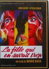 DVD LA FILLE QUI EN SAVAIT TROP - John SAXON / Leticia ROMAN - Mario BAVA