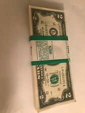 UNcirculated 2013 RARE Two Dollar Bill $2 Note Lot Fancy, BEP✯