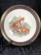 Lenox, Boehm, Fox Fine China Collector Plate