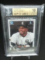 2018 Bowman Chrome Prospects Luis Robert 1st BGS 10 Pristine .5 Away Black Label