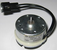 RF-520C - 12 V DC Electric Low Current Motor with Connector and Capacitors
