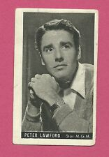Peter Lawford Vintage Kwatta Movie Star Card A