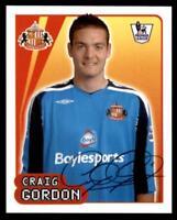 Merlin Premier League 2007/08 Craig Gordon Sunderland No. 535
