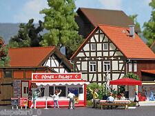 Busch 1034, Döner-Verkauf, H0 Modellwelten Gebäude Bausatz 1:87