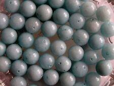 30 Amazonite Round Jewellery Gemstone Beads 10mm