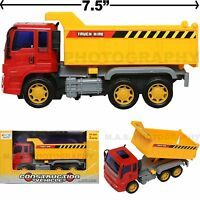 DUMP LOAD TRUCK TOY CONSTRUCTION VEHICLE FRICTION POWERED KIDS LOVE THEM!