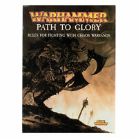 Warhammer Fantasy Path to Glory - OOP Chaos Warband Rules Pamphlet Pre-owned THG
