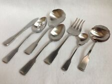 Oneida Heirloom Stainless ' American Colonial '  7 Piece Serving Set - Cube Mark