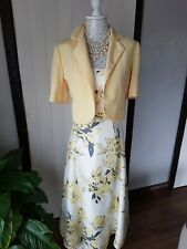 Jacques vert dress suit size 12 mother of the bride cocktail evening ladies day
