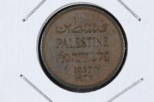 1937 One Mils Palestine - KM# 1