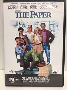The Paper - DVD 1994  Michael Keaton - Glenn Close - Randy Quaid - Robert Duvall